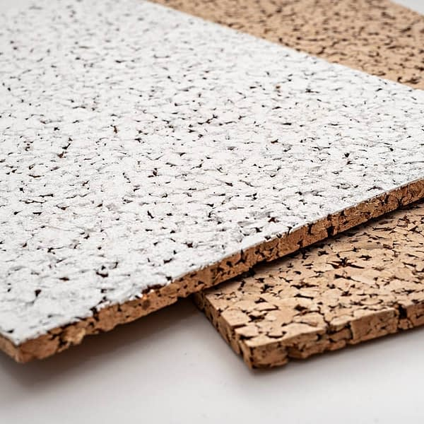 Witte akoestische panelen 10 mm 2