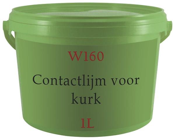 Contactlijm voor kurk W160 1L