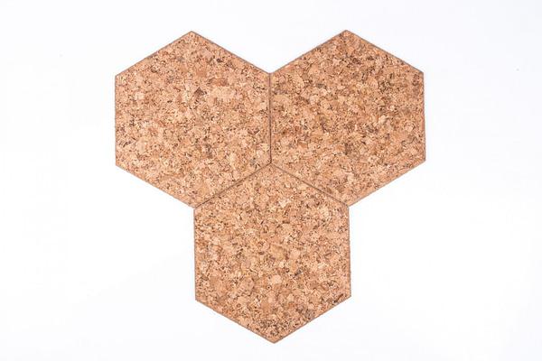 Zelfklevende zeshoekige bordjes decoratief
