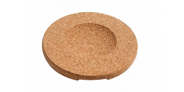 Kulatá korková podložka pro žáruvzdorné nádobí