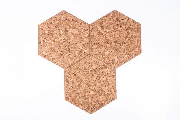 Samolepící Štítek Hexagon Dekorativní