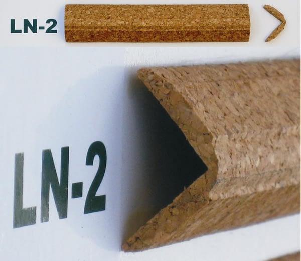 Korkové lišty rohové LN-2